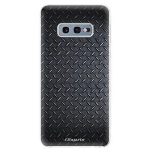 Silikonové odolné pouzdro iSaprio Kov 01 na mobil Samsung Galaxy S10e