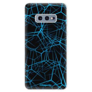 Silikonové odolné pouzdro iSaprio Abstract Outlines 12 na mobil Samsung Galaxy S10e