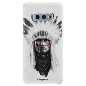 Silikonové odolné pouzdro iSaprio Indián 01 na mobil Samsung Galaxy S10e