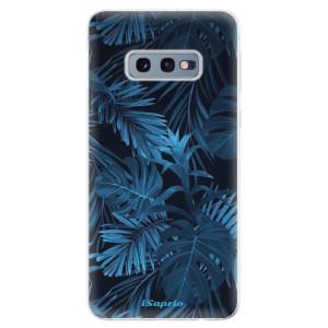 Silikonové odolné pouzdro iSaprio Tmavá Džungle 12 na mobil Samsung Galaxy S10e