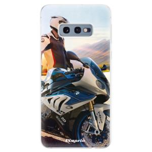 Silikonové odolné pouzdro iSaprio Motorka 10 na mobil Samsung Galaxy S10e