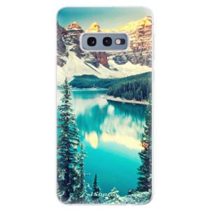 Silikonové odolné pouzdro iSaprio V Horách 10 na mobil Samsung Galaxy S10e
