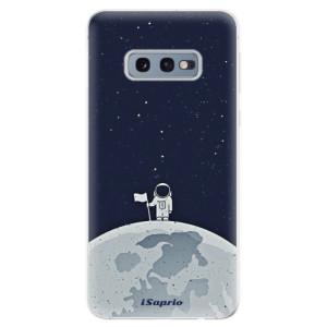 Silikonové odolné pouzdro iSaprio Na Měsíci 10 na mobil Samsung Galaxy S10e