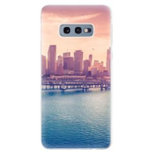 Silikonové odolné pouzdro iSaprio Město po Ránu na mobil Samsung Galaxy S10e