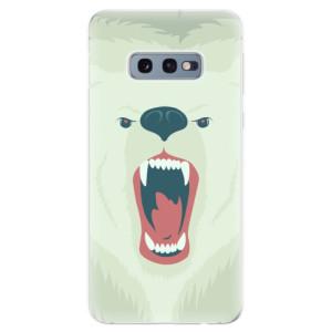Silikonové odolné pouzdro iSaprio Naštvanej Medvěd na mobil Samsung Galaxy S10e