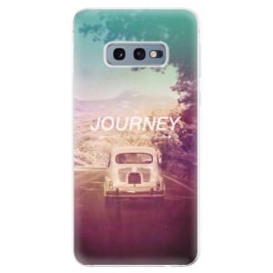Silikonové odolné pouzdro iSaprio Journey na mobil Samsung Galaxy S10e