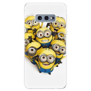 Silikonové odolné pouzdro iSaprio Mimoni 01 na mobil Samsung Galaxy S10e
