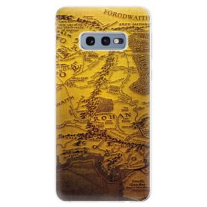 Silikonové odolné pouzdro iSaprio Stará Mapa na mobil Samsung Galaxy S10e