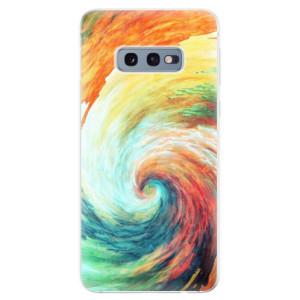 Silikonové odolné pouzdro iSaprio Modern Art 01 na mobil Samsung Galaxy S10e