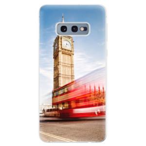 Silikonové odolné pouzdro iSaprio Londýn 01 na mobil Samsung Galaxy S10e