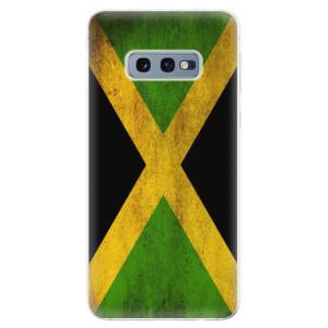Silikonové odolné pouzdro iSaprio Vlajka Jamajka na mobil Samsung Galaxy S10e