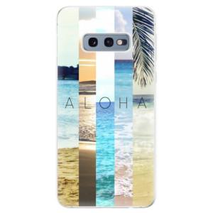Silikonové odolné pouzdro iSaprio Aloha 02 na mobil Samsung Galaxy S10e