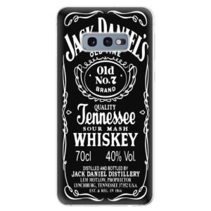 Silikonové odolné pouzdro iSaprio Jack Daniels na mobil Samsung Galaxy S10e