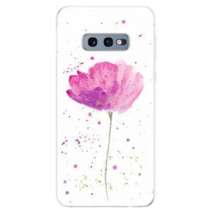 Silikonové odolné pouzdro iSaprio Vlčí Mák na mobil Samsung Galaxy S10e