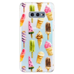 Silikonové odolné pouzdro iSaprio Zmrzky na mobil Samsung Galaxy S10e