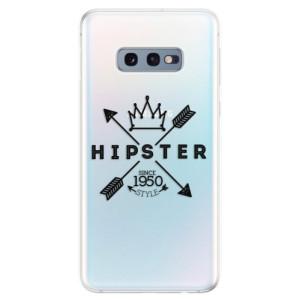 Silikonové odolné pouzdro iSaprio Hipster Style 02 na mobil Samsung Galaxy S10e