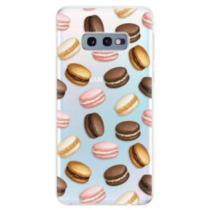 Silikonové odolné pouzdro iSaprio Makronky na mobil Samsung Galaxy S10e