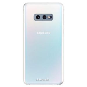Odolné silikonové pouzdro iSaprio 4Pure čiré bez potisku na mobil Samsung Galaxy S10e