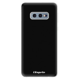 Silikonové odolné pouzdro iSaprio 4Pure černé na mobil Samsung Galaxy S10e