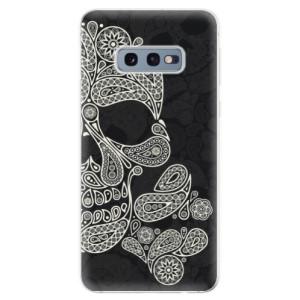Silikonové odolné pouzdro iSaprio Lebka Mayů na mobil Samsung Galaxy S10e