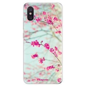 Silikonové odolné pouzdro iSaprio Blossom 01 na mobil Xiaomi Mi 8 Pro