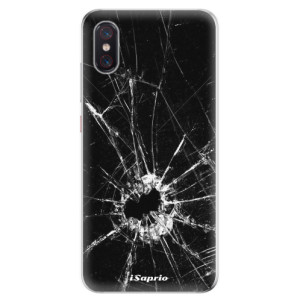 Silikonové odolné pouzdro iSaprio Broken Glass 10 na mobil Xiaomi Mi 8 Pro