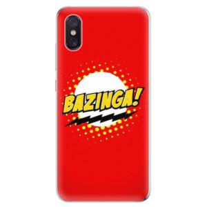 Silikonové odolné pouzdro iSaprio Bazinga 01 na mobil Xiaomi Mi 8 Pro