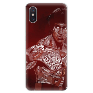 Silikonové odolné pouzdro iSaprio Bruce Lee na mobil Xiaomi Mi 8 Pro