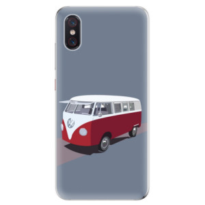 Silikonové odolné pouzdro iSaprio VW Bus na mobil Xiaomi Mi 8 Pro