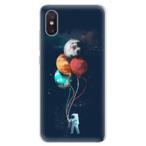 Silikonové odolné pouzdro iSaprio Balónky 02 na mobil Xiaomi Mi 8 Pro