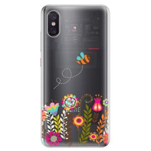 Silikonové odolné pouzdro iSaprio Včelka Pája 01 na mobil Xiaomi Mi 8 Pro