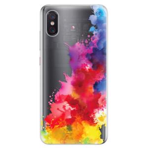 Silikonové odolné pouzdro iSaprio Color Splash 01 na mobil Xiaomi Mi 8 Pro