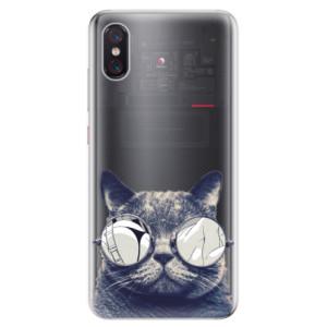Silikonové odolné pouzdro iSaprio Šílená Číča 01 na mobil Xiaomi Mi 8 Pro