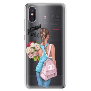 Silikonové odolné pouzdro iSaprio Beautiful Day na mobil Xiaomi Mi 8 Pro