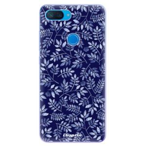 Silikonové odolné pouzdro iSaprio Blue Leaves 05 na mobil Xiaomi Mi 8 Lite