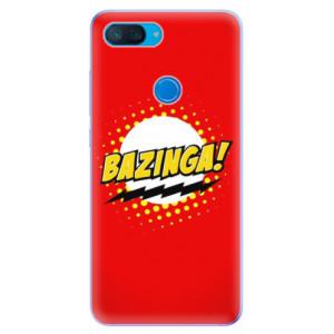 Silikonové odolné pouzdro iSaprio Bazinga 01 na mobil Xiaomi Mi 8 Lite