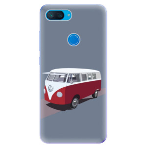Silikonové odolné pouzdro iSaprio VW Bus na mobil Xiaomi Mi 8 Lite