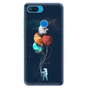 Silikonové odolné pouzdro iSaprio Balónky 02 na mobil Xiaomi Mi 8 Lite