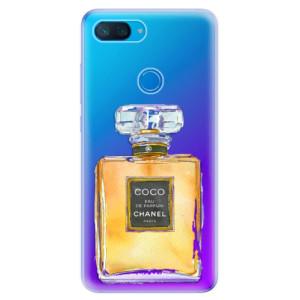 Silikonové odolné pouzdro iSaprio Chanel Gold na mobil Xiaomi Mi 8 Lite