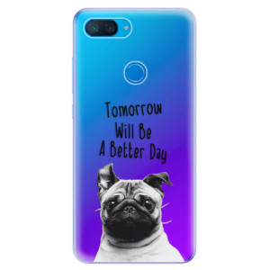 Silikonové odolné pouzdro iSaprio Better Day 01 na mobil Xiaomi Mi 8 Lite