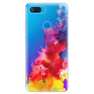 Silikonové odolné pouzdro iSaprio Color Splash 01 na mobil Xiaomi Mi 8 Lite