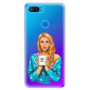 Silikonové odolné pouzdro iSaprio Coffee Now Zrzka na mobil Xiaomi Mi 8 Lite