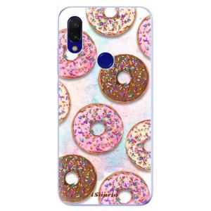 Silikonové odolné pouzdro iSaprio Donutky Všude 11 na mobil Xiaomi Redmi 7