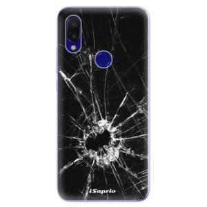 Silikonové odolné pouzdro iSaprio Broken Glass 10 na mobil Xiaomi Redmi 7