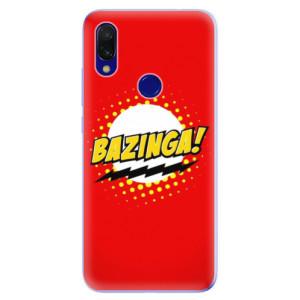 Silikonové odolné pouzdro iSaprio Bazinga 01 na mobil Xiaomi Redmi 7