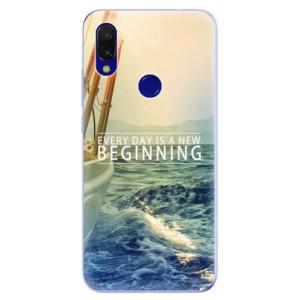 Silikonové odolné pouzdro iSaprio Beginning na mobil Xiaomi Redmi 7