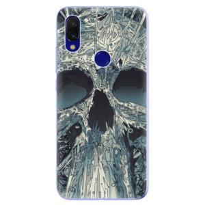 Silikonové odolné pouzdro iSaprio Abstract Skull na mobil Xiaomi Redmi 7