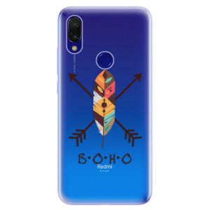 Silikonové odolné pouzdro iSaprio BOHO na mobil Xiaomi Redmi 7