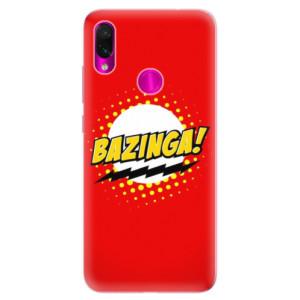 Silikonové odolné pouzdro iSaprio Bazinga 01 na mobil Xiaomi Redmi Note 7