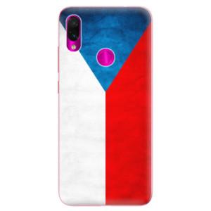 Silikonové odolné pouzdro iSaprio Česká Vlajka na mobil Xiaomi Redmi Note 7